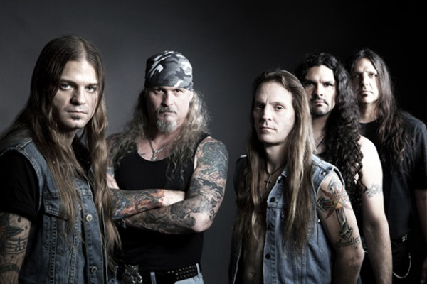 Iced Earth, line-up 2011 with Stu Block