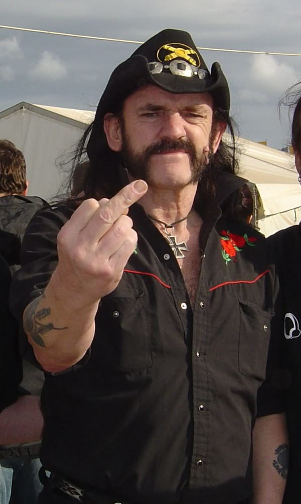 Lemmy Kilmister fucks death