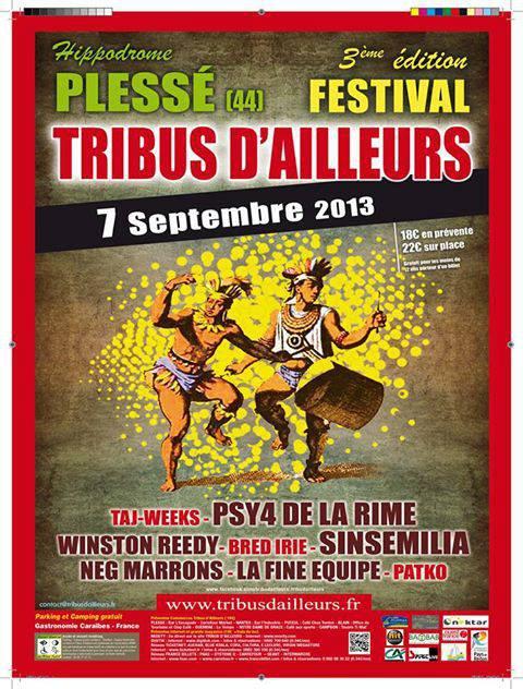 festival tribus d'ailleurs à Plessé