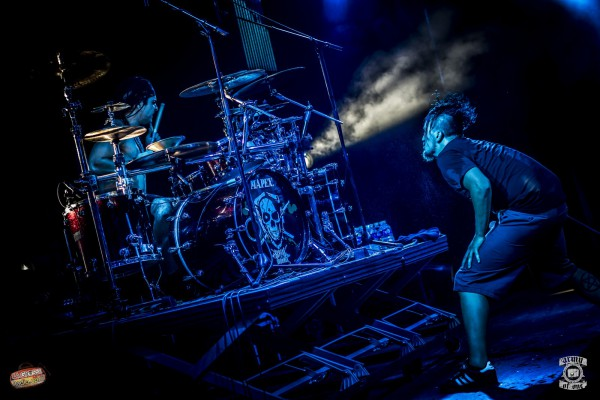 Dagoba, Mennecy, festival, metal, Francky
