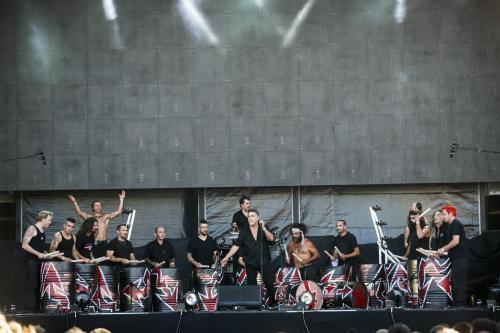 tambours du bronx, sziget, 2013, large