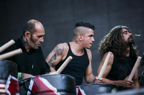 tambours du bronx, sziget, 2013, tatoo