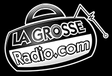 Logo La Grosse Radio Web Noir et Blanc