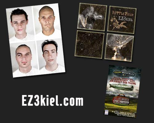 EZ3kiel nouvel album Battlefield sortie le 21 janvier 2008