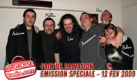 Pain Of Salvation Léo Margarit Interview Radio France La Grosse Radio Podcast Gratuit