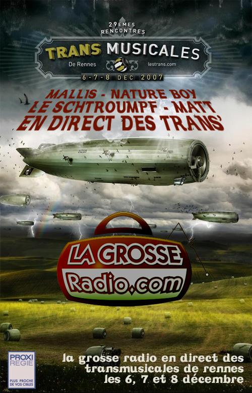Transmusicales de Rennes en live sur la Grosse Radio
